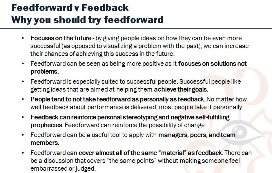 feedforward 2