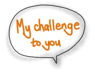 my challenge to you