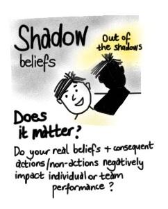 shadow beliefs - do they matter